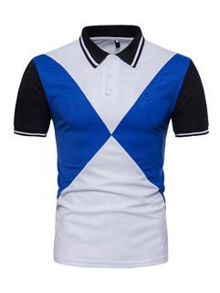 Euro Style Colour Matching Polo Shirt