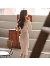 Elegant Fashion Lace Patchwork Bodycon Dresses