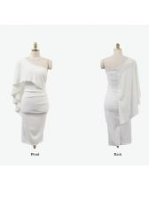 Korean Sexy Off Shoulder Wrap Dresses