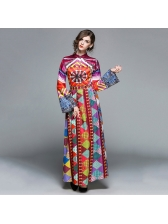 New Arrival Colorful Printing Dresses