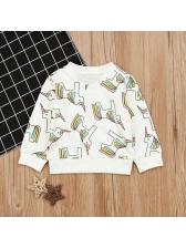 Fashion Animal Print Sweatshirt For Kid