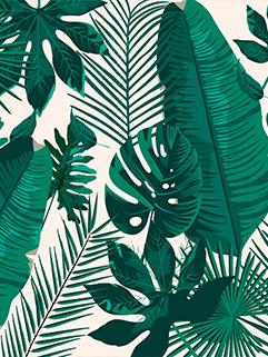 Tropical Fashion Floral Printing Beach Blankets