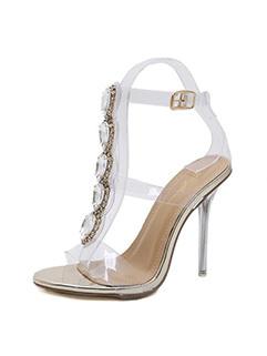 Sexy Gem Crystal Super Heels Sandals