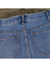 Summer Fashion Beading High Waist A Line Skirt