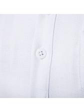 Stylish Denim Patchwork Short Sleeve Polo Shirts