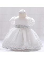 Fashion Sequined Short Sleeve Dresses