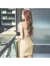 Sexy Single Breasted Spaghetti Straps Dresses