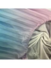 Bohemian Style Gradient Color Chiffon Long Dresses