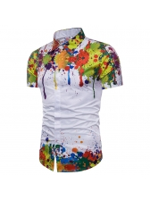 Fashion Splash Ink 3D Printing Shirt