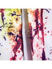 Fashion Splash Ink Short Sleeve Shirts For Men