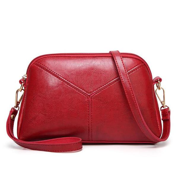 Retro Solid Single-shoulder Ladies Bags