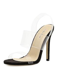 Sexy Open Toe Thin Heel Sandals