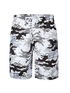 Fashion Camouflage Breathable Loose Shot Pants