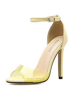 Roma Style a Buckle Peep-Toe Sandals