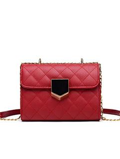 New Arrival Geometric Pattern Chain Single-shoulder Bags