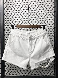Hot Selling High Waist Denim Short Pants(3-4Days Delivery)
