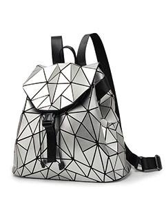 Japanese Unique Fashion Geometric Backpack