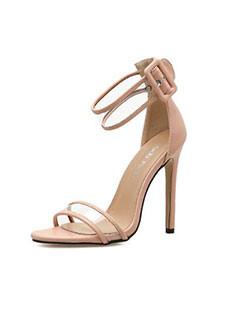 Simple Design Thin Heel Stylish Sandals