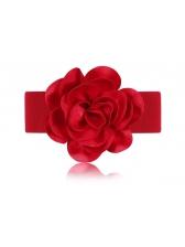 Wholesale Big Flower All Match Fashion Belt
