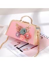Elegant Beading Applique Chain Design Bags For Party