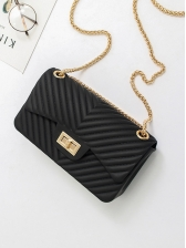 Fashion Solid Square Shoulder Bags For Women