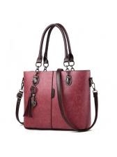 Tassels Vintage Solid Embossed Handbags(3-4 Days Delivery)