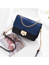Elegant Sequined Hasp Ladies Shoulder Bags(3-4 Days Delivery)