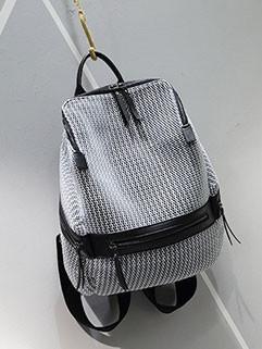 New Arrival Reticular Design Traveling Backpacks