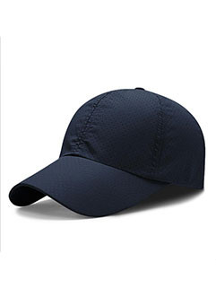 Korean Style Breathable Solid Casquette