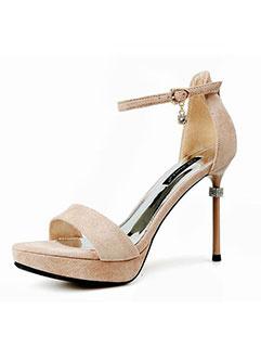 Fashion Super High Thin Heel Sandals