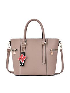 Elegant Zipper Design Hand Bags