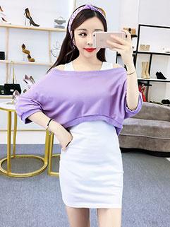 Korean Design Off Shoulder Fashion Women Suit
