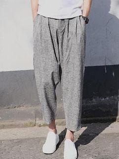 Fashion Hot Sale Solid Harem Loose Pants