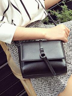 Retro Simple Design Shoulder Bags
