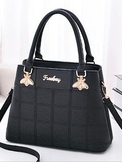 Elegant Plaid Hand Bags For Women