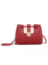 New Arrival Contrast Color Shoulder Bags