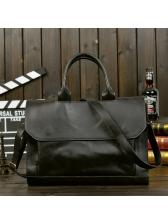 Vintage Solid Business Man Messenger Bags