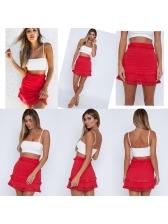 Hot Sale Tassels Patchwork Chic Skirt