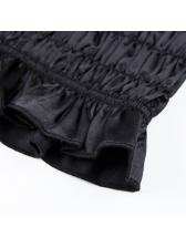 Euro Elastic Pleated Solid Camisole