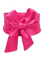 Korean Fashion Superwide Bow-tie Waist Belts