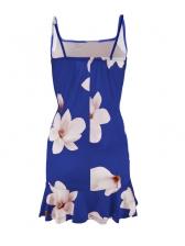 Hot Sale Floral Strap Short Dresses