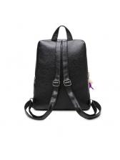 Fashion All Black Women Backpacks
