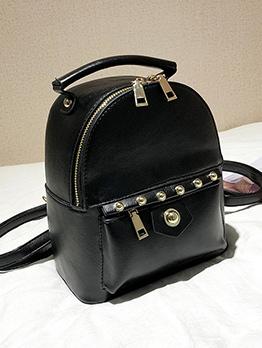 Fashion Rivet Design PU Backpacks