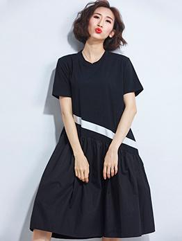 Fashion Plus Size Casual Long Dresses