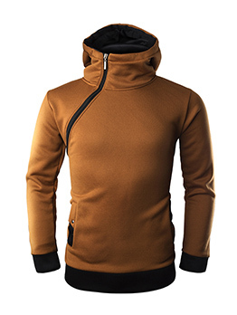 Stylish Color Blocking Hoodies For Men