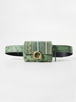 New Arrival Snake Printed Bumbag