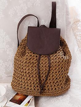 Hot Sale Colorblock Drawstring Backpacks