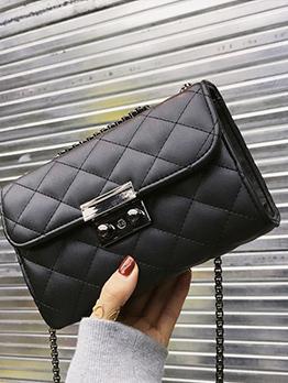 Korean Style Fashion Solid Shoulder Bags