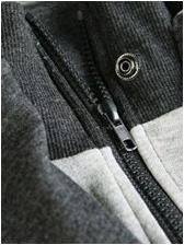 Easy Matching Fashion Zipper Up Jackets