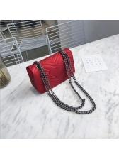 Chic Geometric Chain Shoulder Bags